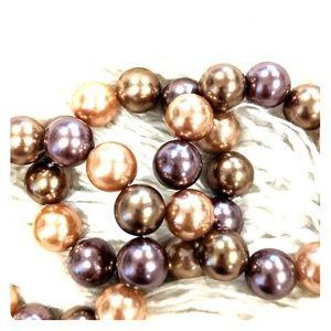 Large costume pearls